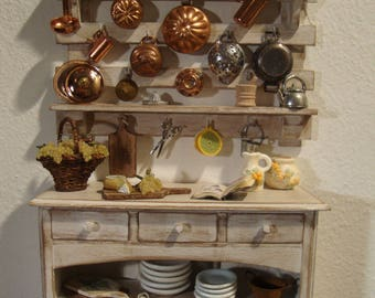 dollhouse furniture  miniature kitchen panel