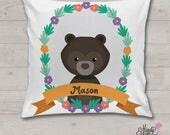 Bear - Personalised cushi...