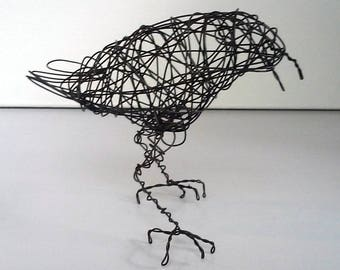 Original Handmade Wire Bird Sculpture - SYDNEY