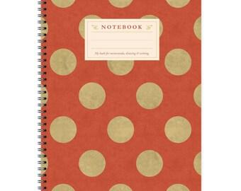Notebook A4 - Dots-Pattern