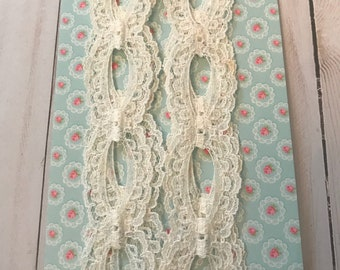 Vintage White Lace Trim