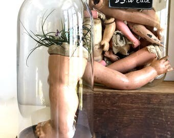 Vintage creepy doll body parts / limbs