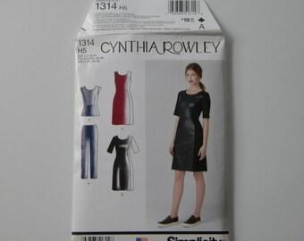 Simplicity Cynthia Rowley pattern.