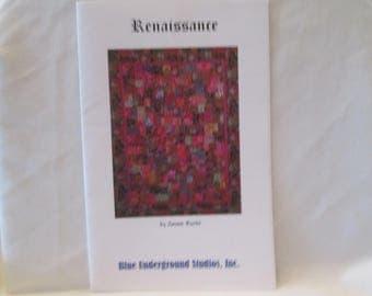 Renaissance Quilt Pattern (Design by Janine Burke)
