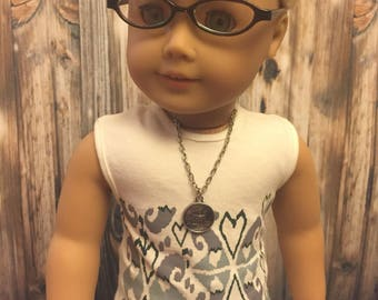 Christmas Sale-doll necklace-fits American Girl doll/18 inch doll accessories/fits AG dolls