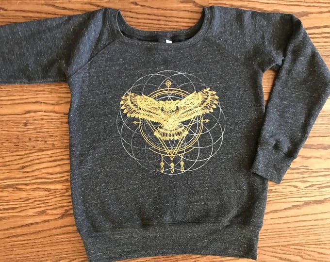 OWL Spirit Animal Fleece Sweatshirt