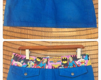 Women Super Hero Skort