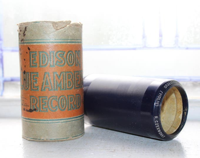 Antique Edison Cylinder Record 2625 Liebestreud on Violin Phonograph