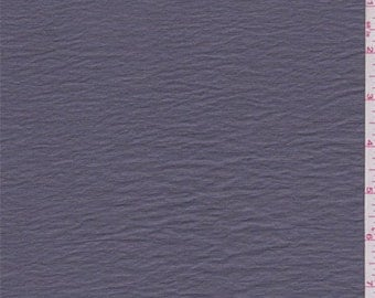 Granite Grey Crinkle Shimmer, Fabric By The Yard