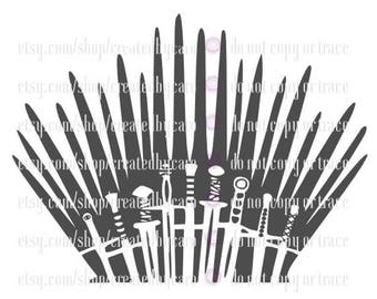 Iron Throne digital file