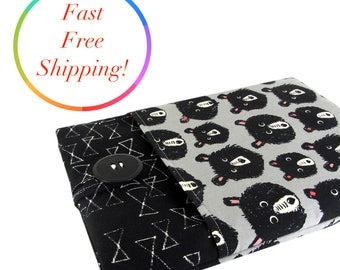 Bear Kindle Paperwhite Case, Kindle Paperwhite Sleeve, Kindle Paperwhite Cover, Kindle Cover, Kindle Sleeve, Kindle Case