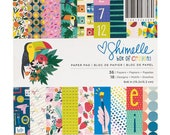 Shimelle Box of Crayons 6x6 Paper Pad -- MSRP 6.00