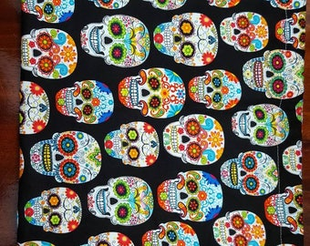 Sugar Skull Knitting Bag