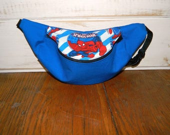 Marvel's Spiderman Fanny Pack With or Without Embroidered Name - Children thru Adult Sizes