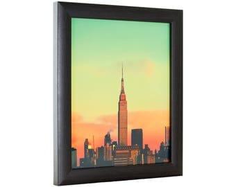 "Craig Frames, 20x28 Inch Brazilian Walnut Brown Picture Frame, 1"" Wide (232477782028)"