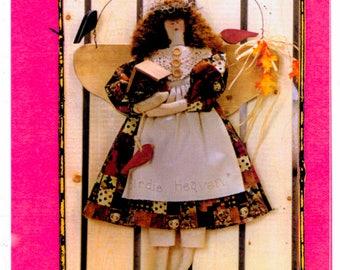 Hanging angel craft pattern