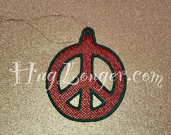 Fsl Peace Jewelry Embroidery File