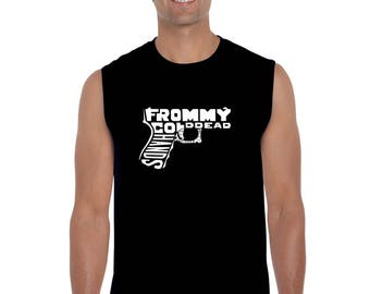 Men's Sleeveless Shirt - Created using The Words From My Cold Dead Hands Gun