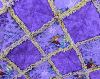 Frozen Rag Quilt
