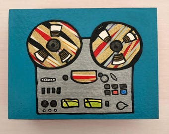 Reel to Reel Mini Collage
