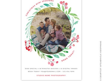 Christmas Marketing Ad - Instant download - e1519