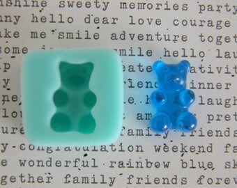 Flexible Mold - Mini Gummy Bear