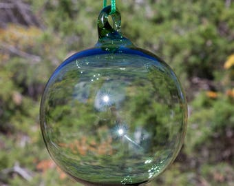 OOAK Hand blown Borosilicate Glass Christmas ornament 190