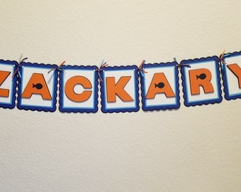 Finding Nemo/Finding Dory-Inspired Personalized Name Banner