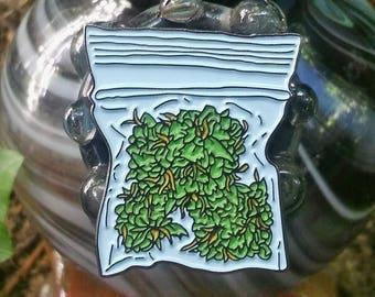 Gram of Cannabis Enamel Pin