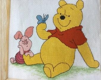 POOH & PIGLET - Cross Stitch Pattern Only