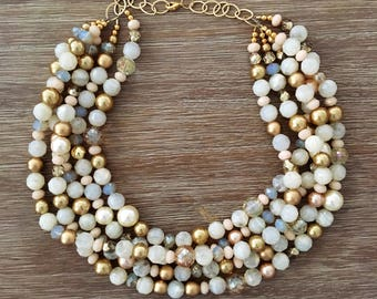 The Cream & Sugar Necklace
