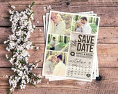 Save The Date Magnet printed samples