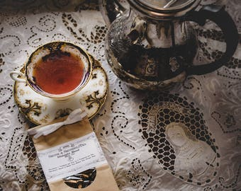 Midnight 18th Century Tea Blend 100 Grams - Historic Hand Blended Colonial Loose Leaf Tea