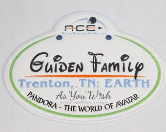Customized Stroller, wheel chair, ECV, and luggage tags Vacation