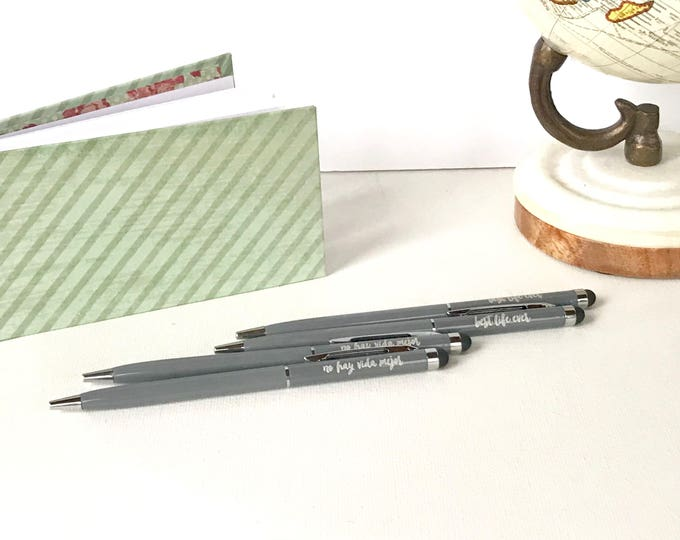 Featured listing image: Gray Best Life Ever/No Vida Mejor Stylus Pens