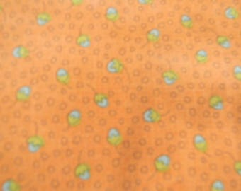 Garden Whimsy Pink/Blue Quilt Fabric