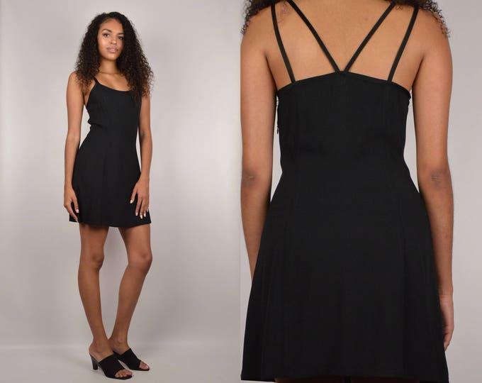 90's Guess Black Mini Dress