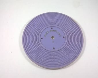 Fisher Price Record Jack and Jill / Humpty Dumpty - Purple- Music - 1970's Fisher Price Record Player