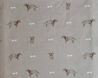 Sophie Allport Terrier Dog Cotton Fabric