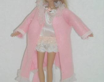 Barbie Lacy Nightgowns with Robes and Slippers Choice of 5 Styles
