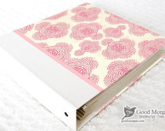 5 Year Baby Memory Book  - Floral Blush