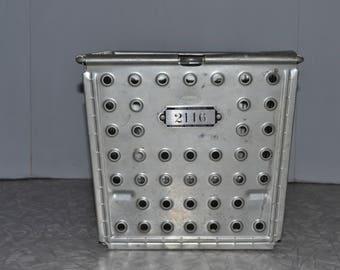 Wire Locker Basket ~ Gym Basket ~ Androck Wire Basket ~ Storage Basket ~ No 2116 ~ Industrial ~ Home Decor ~ Epsteam