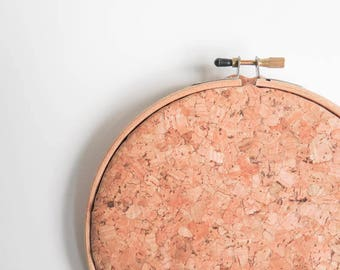 Stitchable Cork | Natural Cork Fabric for Hand Embroidery, Cross Stitch, Needlepoint, Hoop Art