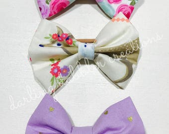 Woodland Whimsy Bow Set