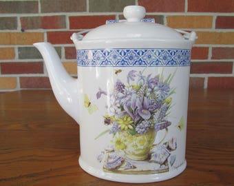 Vintage Hallmark Marjolein Bastin Tea Pot
