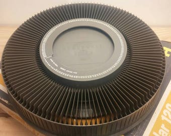 HONEYWELL SLIDE CAROUSEL Round Circular Collectible and in Excellent Condition in it's Original Box!