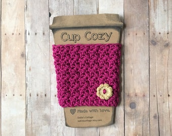 Cup Cozy, Coffee Cup Cozy, Cup Sleeve, Coffee Cup Holder, Coffee Cozy, Coffee Gift, Coffee Cup Sleeve, Coffee Sleeve, Reusable Coffee Sleeve