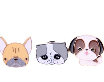 Brooch cat dog