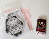 Aloha Pineapple Panda Clear Stamp