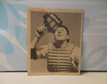 Vintage 1948  Buddy Rosar Bowman # 10 Baseball Rookie card